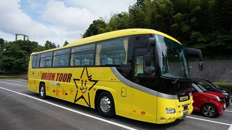オリオンツアー バス