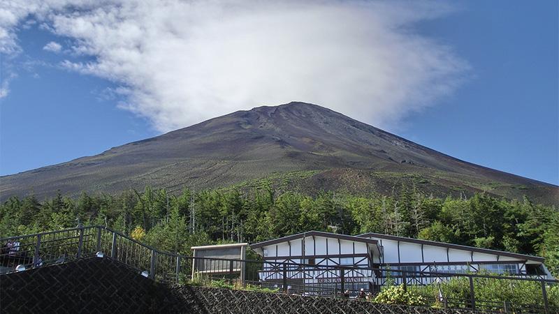 富士スバルラインから富士山
